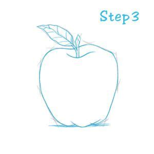 How To Draw An Apple (beginning) – Sketch2draw.com.
