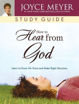 [pdf] How To Hear From God Study Guide.