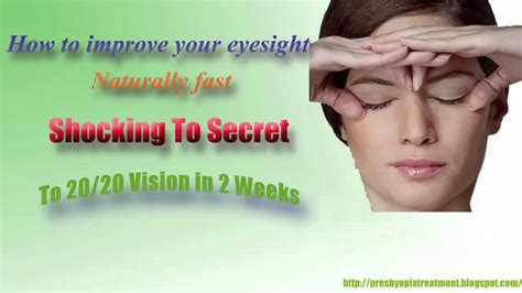[click]how To Improve Your Eyesight Naturally And Fast .