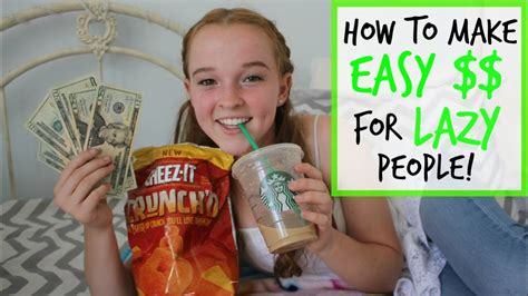 @ How To Make Easy Money For Lazy People .