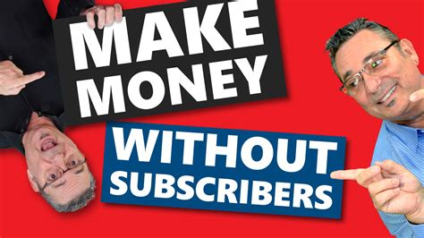 How To Make Money On Youtube (without A Million Subscribers.