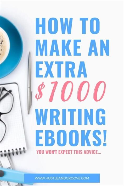 How To Make An Extra $1000 Writing Ebooks + How To Get Started.