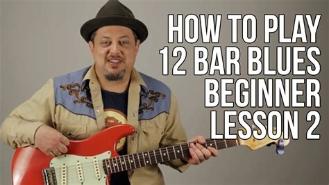 [click]how To Play 12 Bar Blues Beginner Guitar Lesson Blues Guitar Lessons.