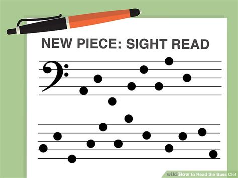 [click]how To Read The Bass Clef 9 Steps With Pictures - Wikihow.