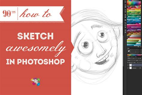 How To Sketch Awesomely In Photoshop - Wacom Blog.