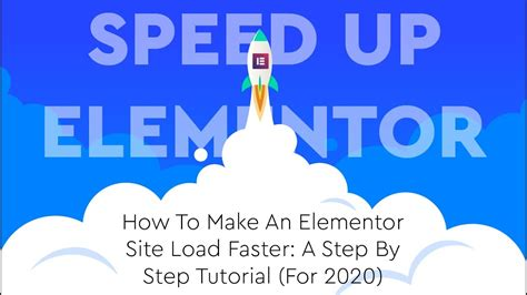 How To Speed Up Your Elementor Site Using Wp Rocket - Elementor.