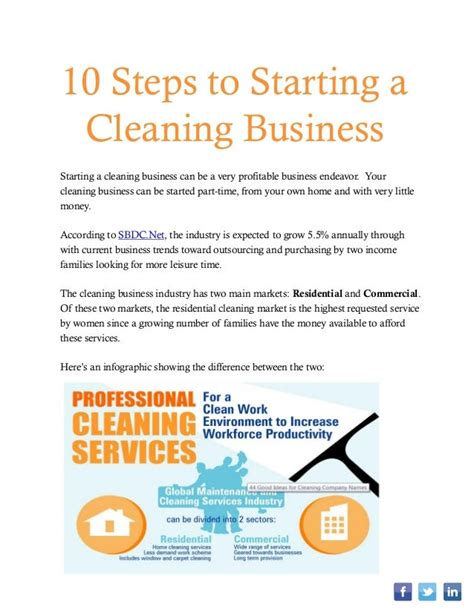 [click]how To Start A Cleaning Business 10 Steps .