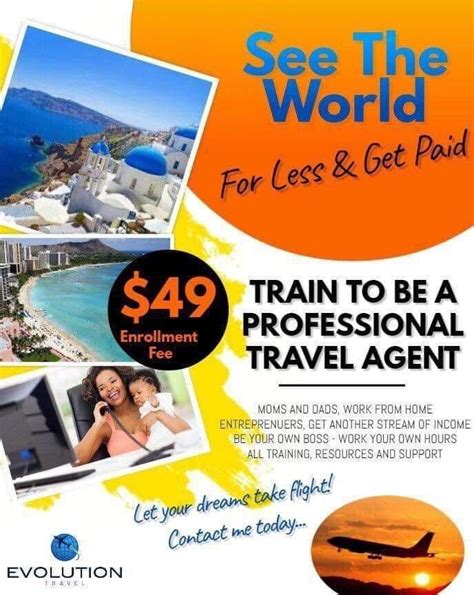 @ How To Become A Travel Agent From Home Becoming Travel Agent.