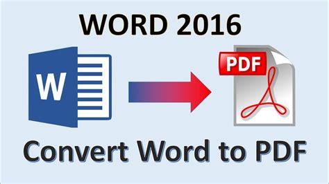convertir word a pdf free online