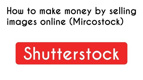 How To Earn Money Online By Selling Photos On Shutterstock - Linkedin.