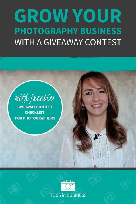How To Grow Your Photography Business With A Giveaway Contest.