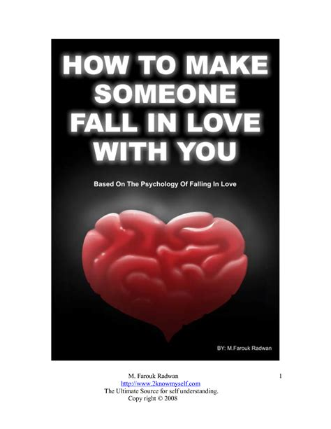 [pdf] How To Make Someone Fall In Love With You Pdf Farouk Radwan.