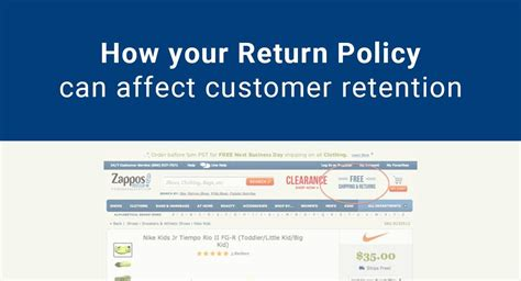 @ How Your Return Policy Can Affect Customer Retention .