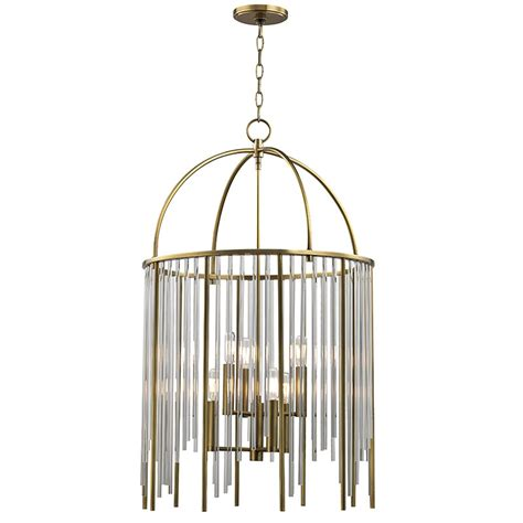 Hudson Valley Lewis 6 Light Pendant - Aged Brass 2520-Agb.