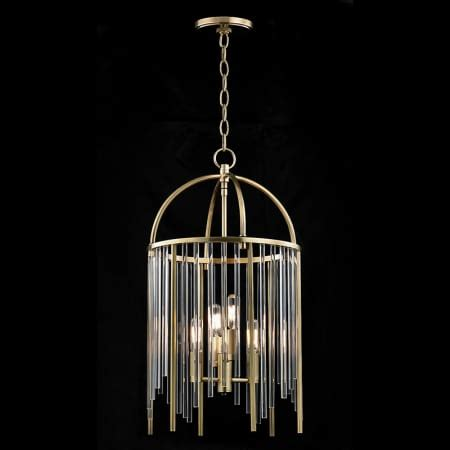 Hudson Valley Lighting 2512 Lewis 4 Light Pendant - Luxury .