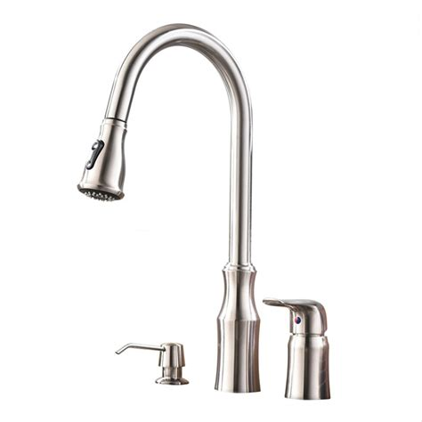 Huge Deal On Lisbon Kitchen Sink Faucet With Pullout Sprayer.