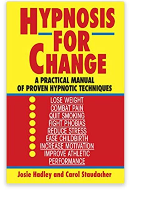 [pdf] Hypnosis For Change A Practical Manual Of Proven Hypnotic .