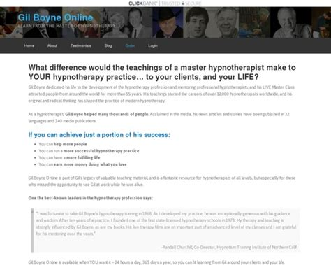 [pdf] Hypnosis With The Legendary Gil Boyne.