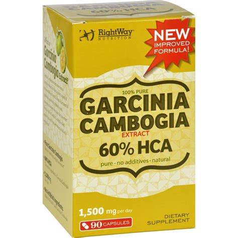 I Was Rightway Nutrition Garcinia Cambogia Extract Reviews How Much.