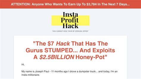 Ig Profit Hack Review Is It A Profitable Opportunity Or Another Scam?.