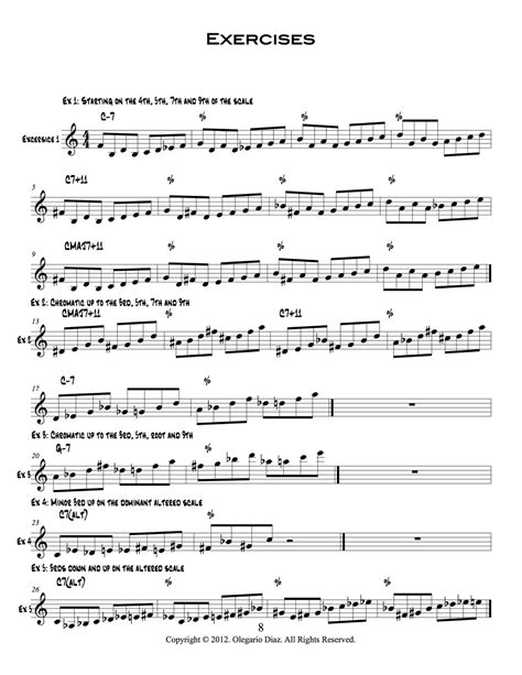 @ Ideas Phrases Exercises For The Modern Guitarist Review .