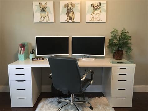 Ikea Office Desks And Cabinets