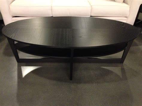Ikea Round Black Coffee Table