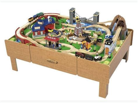 [pdf] Imaginarium Roundhouse Wooden Train Set Instructions.