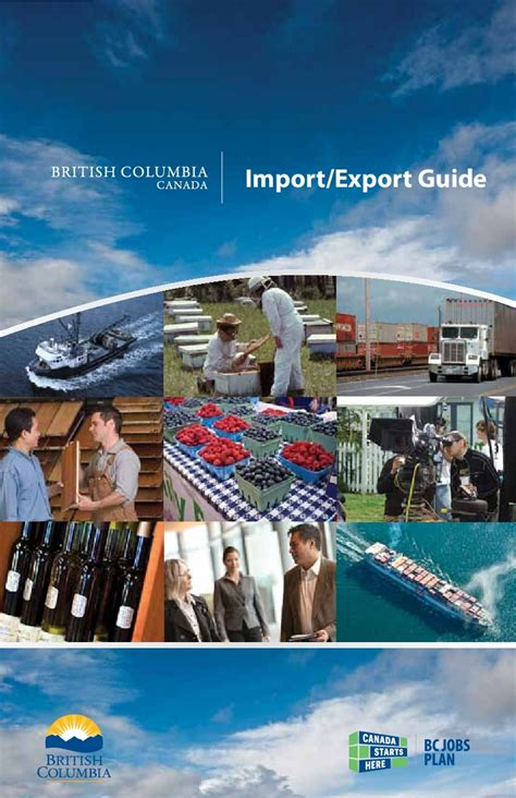 [pdf] Import Export Guide - British Columbia