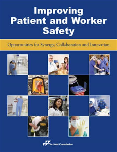 [pdf] Improving Patient And Worker Safety - Joint Commission.