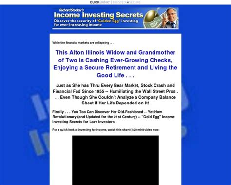 @ Income Investing Secrets Systems - The Best Offers In The .
