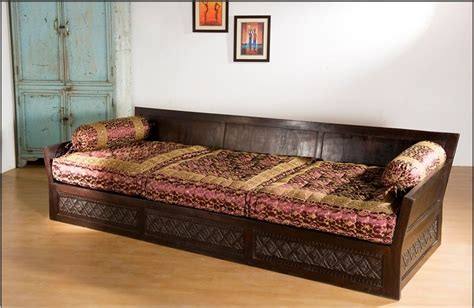 Indian  Moroccan Style Wooden Seating Furniture   Sofas .