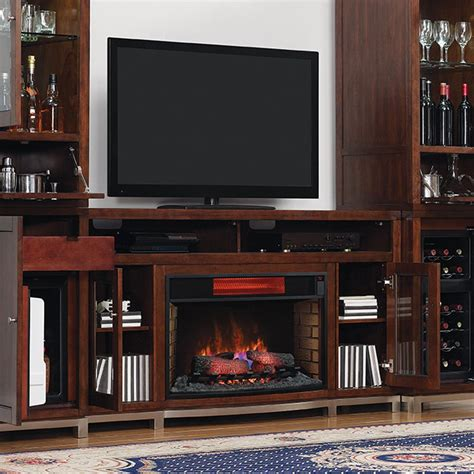 Infrared Fireplace Entertainment Centers