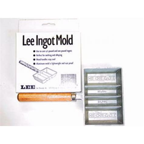 Ingot Mold Parts - Lee Precision.