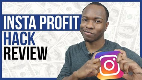 Insta Profit Hack Review: Does This Ig Profit Hack Legit - Youtube.