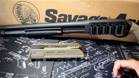 Installing The Magpul Moe Forend On Remington 870 Hd .