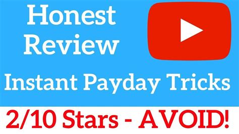 [click]instant Payday Tricks Review - Is It Works Free Pdf .