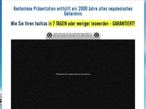 [click]instruction German Sciatica Sos - Ischias Sos Tm   50 .