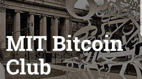 Interview With Mit Bitcoin Club President - Mit Vault Crypto - Youtube.