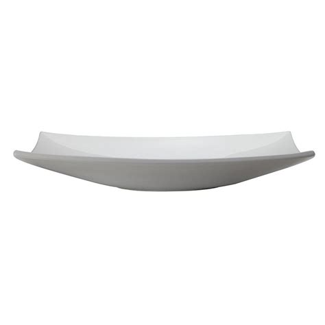 Iris Above-Counter Rectangular Lavatory Sink White .