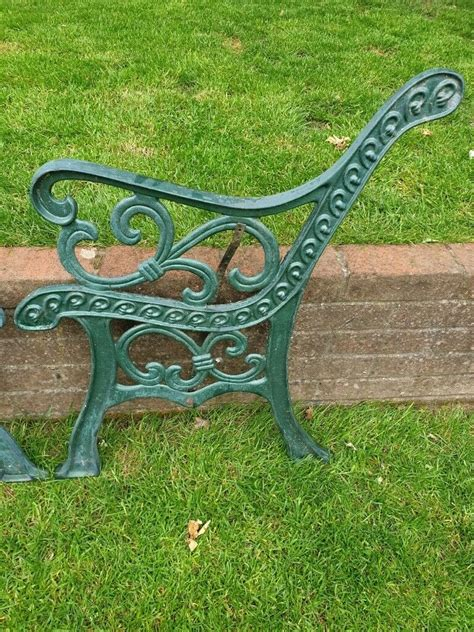 Iron Garden Bench Ends