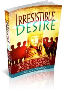 Irresistible Desire Review Of Carlos Cavallos Latest….
