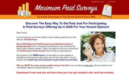Is Maximum Paid Surveys A Scam Or A Legit Opportunity? - My.