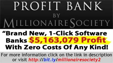 Is Millionaire Society A Scam - Read This Before You Buy It.