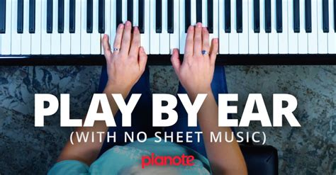 [click]it Is Possible To Learn How To Play Piano By Ear   De .