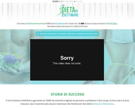Italian Version - The 2 Week Diet - Just Launched By Proven Sellers!.
