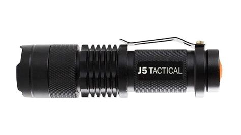 [click]j5 Tactical Flashlight Review Full Series   Cool Prepper Gear.