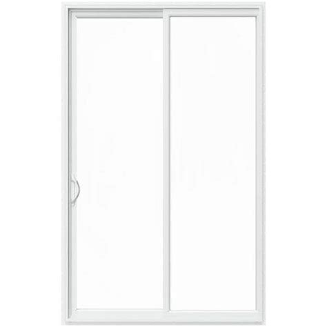 Jeld-Wen 96 In X 80 In V-2500 White Vinyl Left-Hand Full .