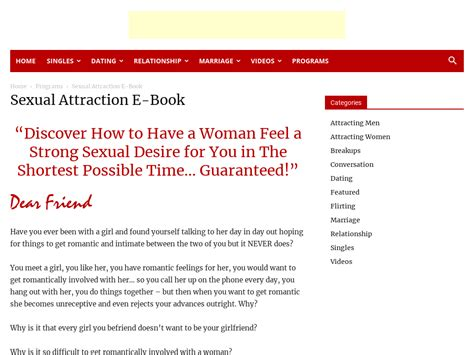 @ Joshmanuel  Sexual Attraction Make Any Girl Feel A