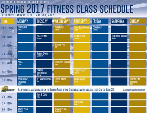 [pdf] January 2017 Class Schedule - Encore Fitness